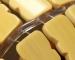 Chiếu trúc hạt to không viền màu vàng Size: 0.8mx1m9